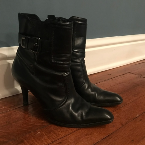 1ce77bf0bc4 Cole Haan Black Leather Boots